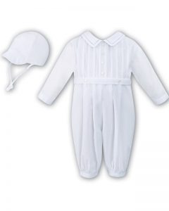 Buy-White-Long-Sleeve-Christening-&-Occasion-Romper-with-Hat--Barry